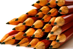 Stack of pencils