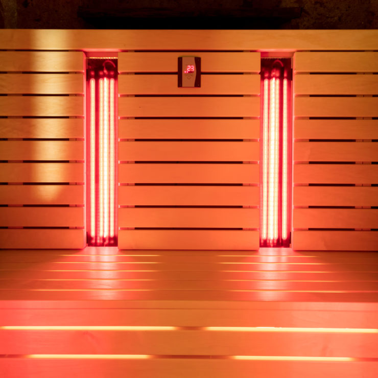 Photo Of An Infrared Sauna