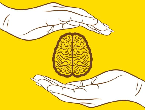 Illustration Of Hands And Brain By Vectoraart Via IStockPhoto