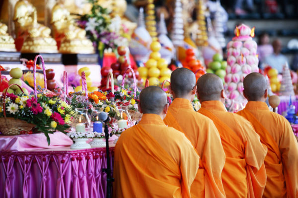 Buddhist ritual photo by CreativaImages via iStock