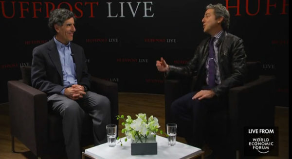 Richard Davidson interview by Huffington Post Live at World Economic Forum