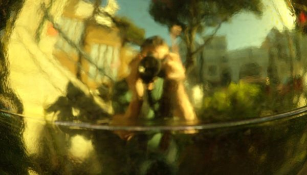 Photo of photographer reflection on metal by David Goehring via Flickr