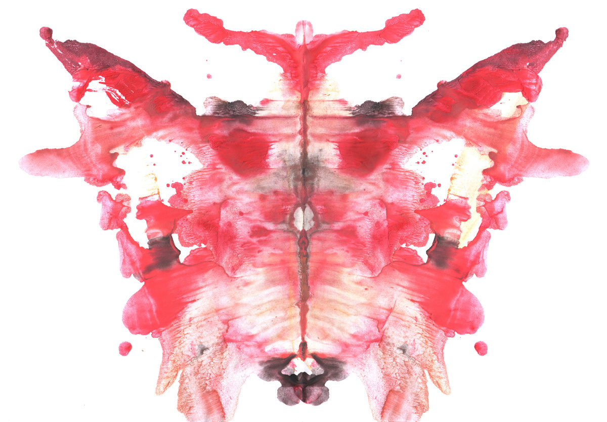 Rorschach test photo by denamazanikignatencko via iStockPhoto