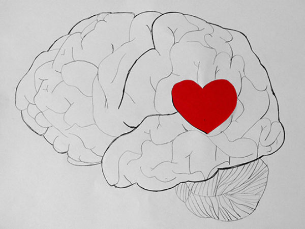 Brain Heart Illustration by Yasmeen via Flickr Cc