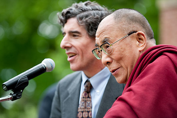 Dalai Lama Richie Olin Photo By Jeff Miller