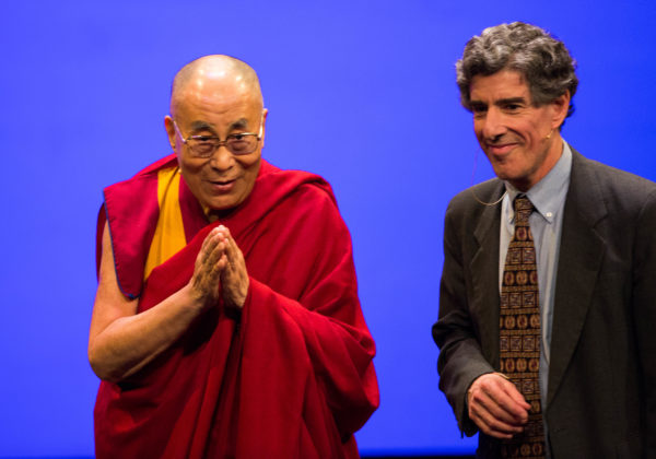 His Holiness The Dalai Lama And Richard Davidson At A Past Event