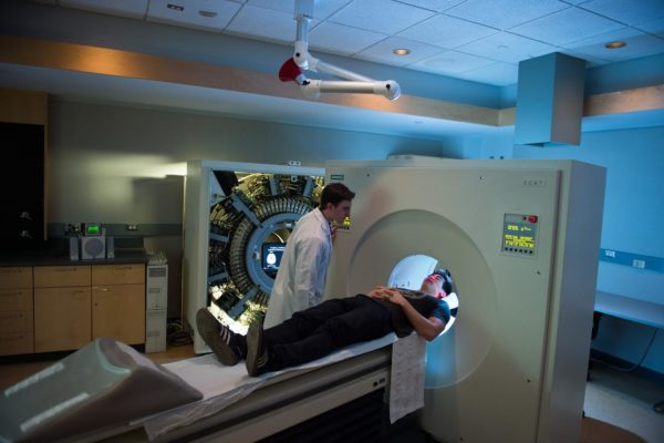 Mri Scan Patient Researcher