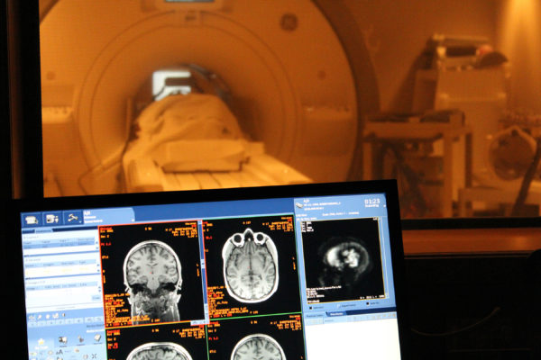 fMRI Scan Screen Machine
