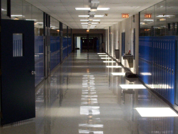 School Empty Hallway Photo by Christopher Webb via Flickr Cc