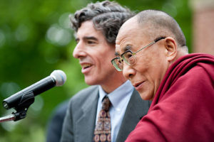 Photo of the Dalai Lama and Richard Davidson by Jeff Miller from University Communications at UW-Madison