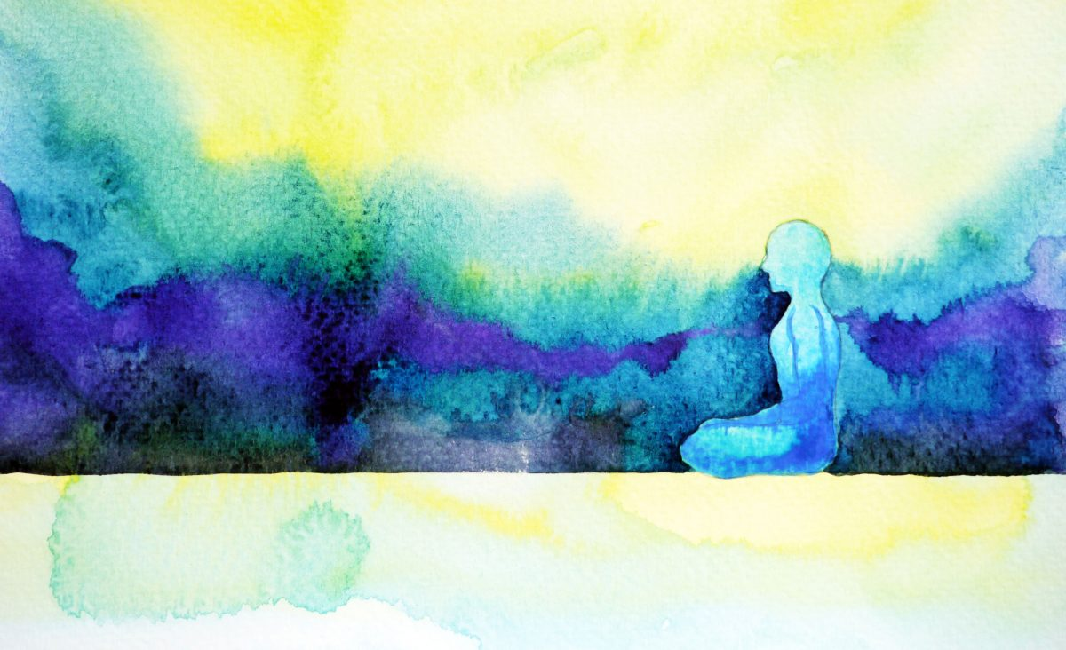 Meditation Water Color Web